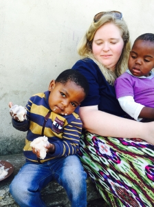 Laura child eating