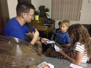 A game of Old Maid!